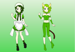 TMM OC: Kyuri Akimoto/Mew Cucumber by DreamNotePrincess