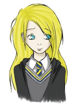 Luna Lovegood - collab by floangel