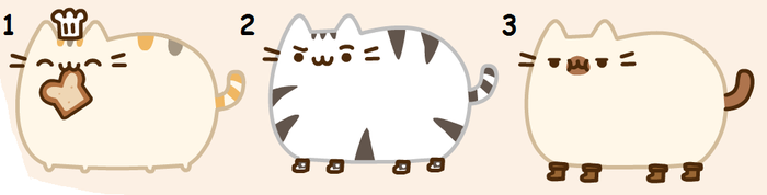 Pusheen adopts FIRST DRAW TO ADOPT! WOO xDDD by CookehzAndCream