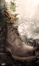 Bunny in A Boot by jessicael