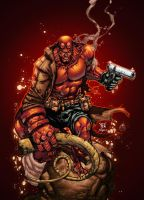 Hellboy by AlonsoEspinoza