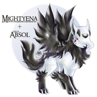 Mightyena X Mega Absol