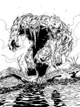 lakcoo2u's Manthing inks by Dub-T