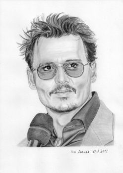 Johnny Depp - Berlin 2013 by shaman-art