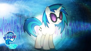 Vinyl Scratch is Best Pony HD Wallpaper by Jackardy