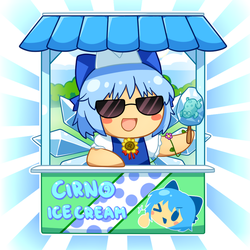 Happy Cirno Day! by Ransaros