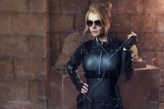 Cassie Cage MKX by CaptainIrachka