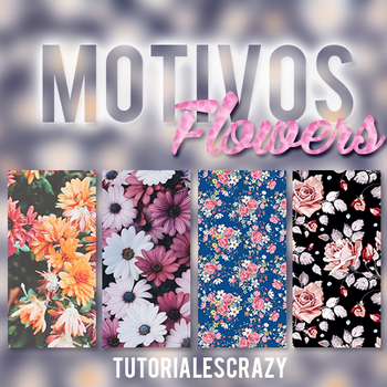 Motivos flowers by tutorialescrazy