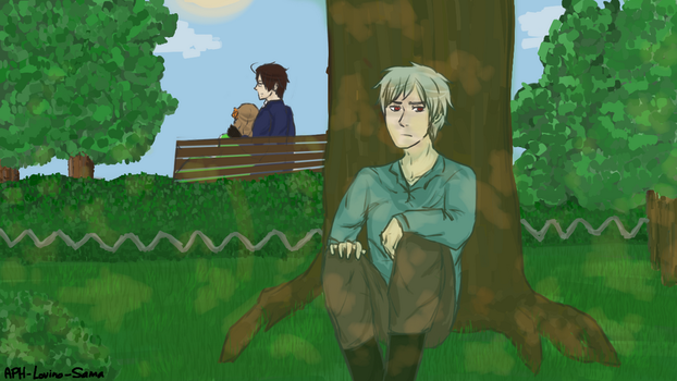 I see you two fell in love by APH-Lovino-sama