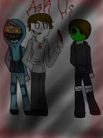 Ask Team Creepy Crafted by Koopa-Doll