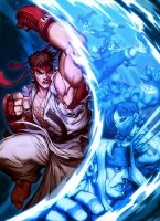 Street Fighter Unlimted Vol 1 by GENZOMAN