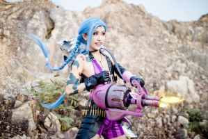 League of Legend: Jinx 4 by josephlowphotography