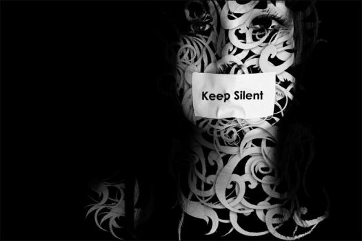 keep silent by formalART