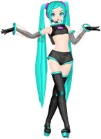 MMD DTE (05) Space Channel 39 DL by MisakiGalhardo