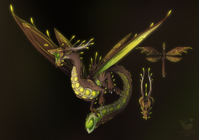Runic Shimmerwing - Adopt Auction CLOSED by Creators-Ink