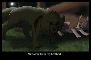 Stay Away From My Brother! .:Gift:. by Angelwolf778