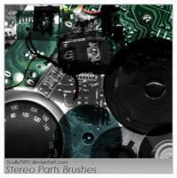 Stereo Parts Brush by Scully7491