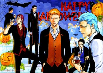 BLEACH: Happy Halloween 2017 by Sideburn004