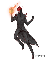 COMM: The-Exiled-Draco by Heuring