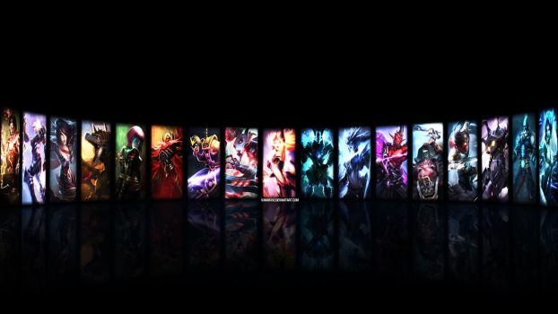 League of Legends Wallpaper - 2 by V3N0MX92