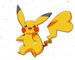 Shiny Pikachu by Willow-Pendragon
