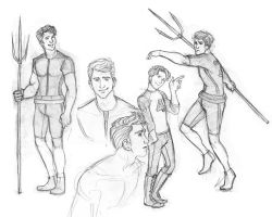 Finnick Odair Sketchdump by Catching-Smoke