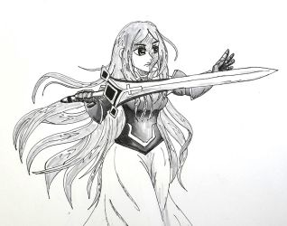 Day 6. Sword by AriaPrime
