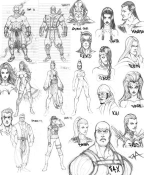 MK concept sketchies by Fezat1