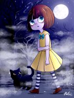 Fran Bow: Let's go home, kitty by CottonCatRie