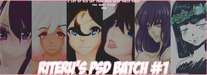 PSD BATCH #1 [$15] by riteru
