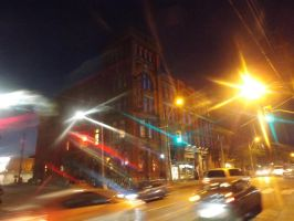 The Gladstone At Night #1 by Neville6000