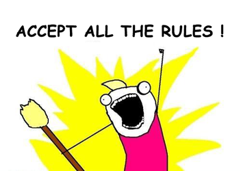 Accept All The Rules by AngelMeDevil