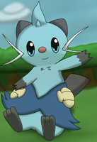 Dewott says hi!~ by DreamyNormy
