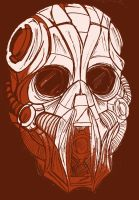 red mask by wookieebasher