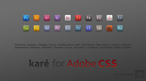 kare for Adobe CS5 by AlexandrePh