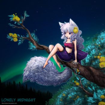 Lonely Midnight by PikAe
