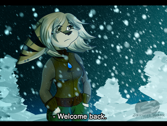 Welcome back by JinxytheLombax