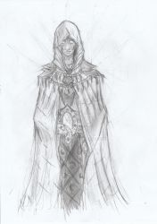 Practising with cloacks and hoods. by Thadal