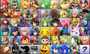 Super Smash Bros. 3DS HI-RES and DLC by ConnorRentz