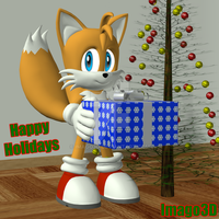 Happy Holidays by imago3d