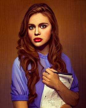 Lydia Martin by Marcianca