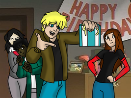 Happy b-day by Spiderstealthy123