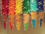 colorful bubbles by normaajean