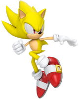 Super Sonic Final by Cyberphonic4D