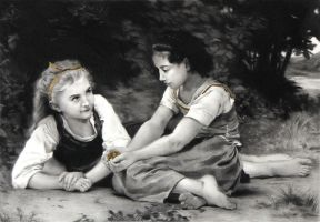 After Bouguereau II by JoseHerb