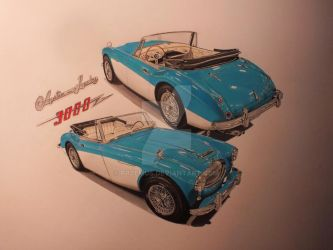 '63 Austin Healey by przemus