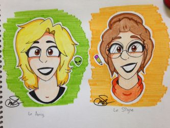 Amy and Signe by Rocker2point0
