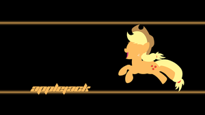 Applejack Wallpaper by Alexstrazse