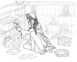 WIP: Ren (for The Avatar RP) by kamidoodles