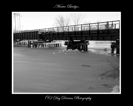 .:Winter Bridge:. by DayDreamsPhotography